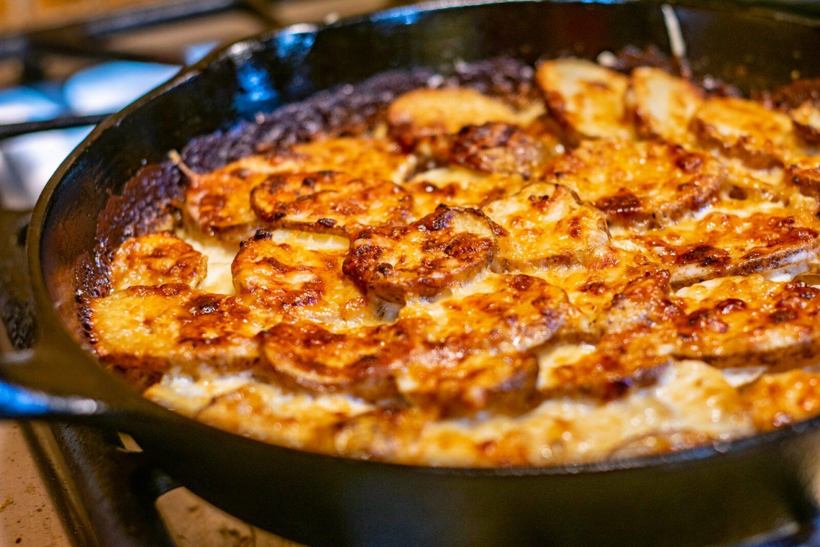 baked potatoes dauphinoise